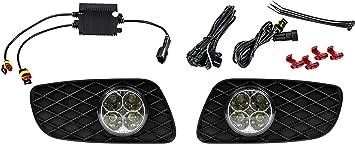Autolight 24 Led Smd Tagfahrlicht Drl Tfl Rund Design R87 Modul 451 W451 16142 Auto