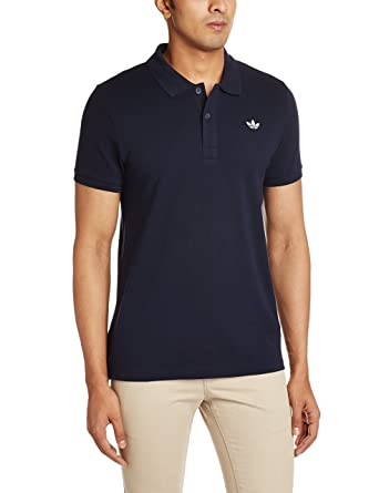adidas Originals Men's Polo T-Shirt (4056559525828_AO0243_XS_Dark Blue)