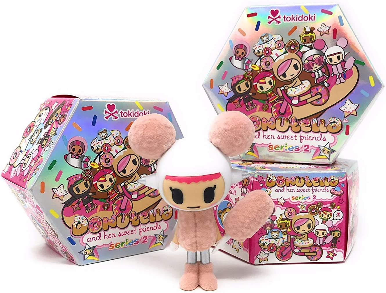 Tokidoki  Donutella series 2   X 3 BLIND BOXES