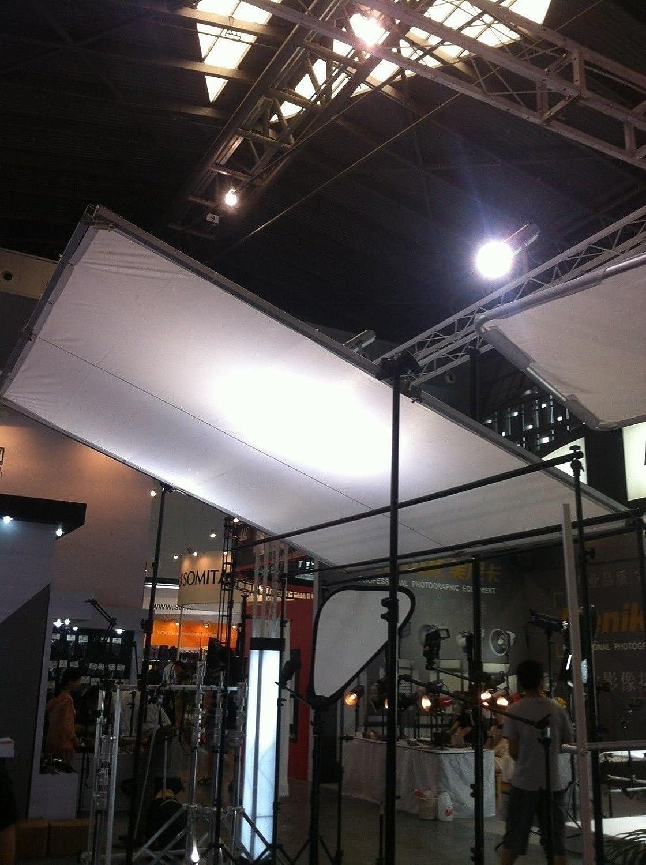 Diffusion White Silk Bag 2.4x2.4m 8x8 8x8 Butterfly Frame Detachable Kit