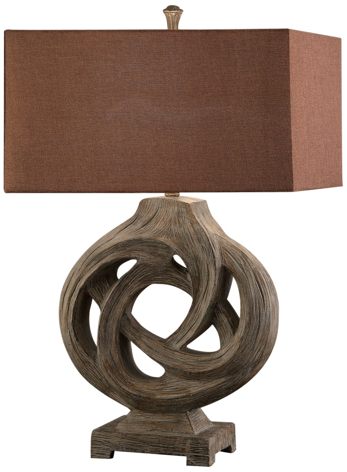 Crestview CVAUP687 Coiled Branch Table Lamp