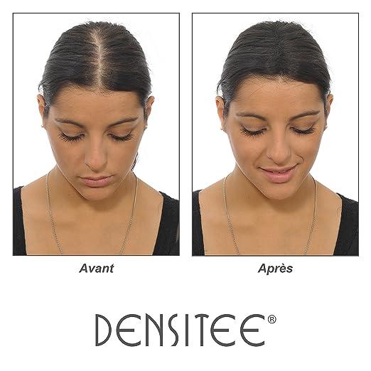 Densitee MUJER 28gr - Microfibras Capilares Queratina en Polvo - Para disimular la caída de cabello - Efecto Visible al Instante - Mascara Anti- calvicie: ...