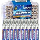 ACDelco AAA Super Alkaline Batteries in Recloseable Package, 60 Count