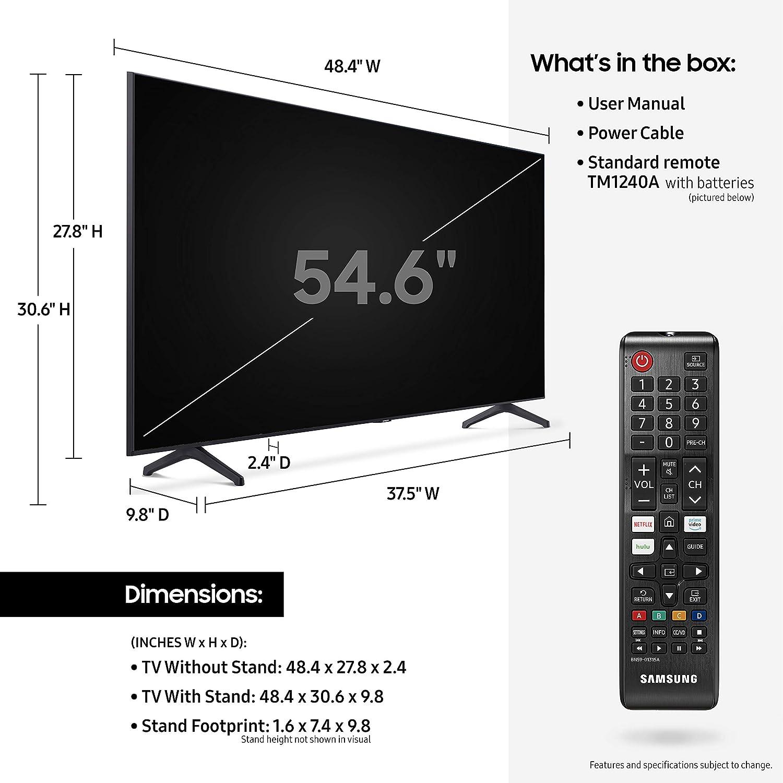 Samsung - Smart TV Samsung de 55 pulgadas de clase UHD TU-7000: Amazon.es: Electrónica