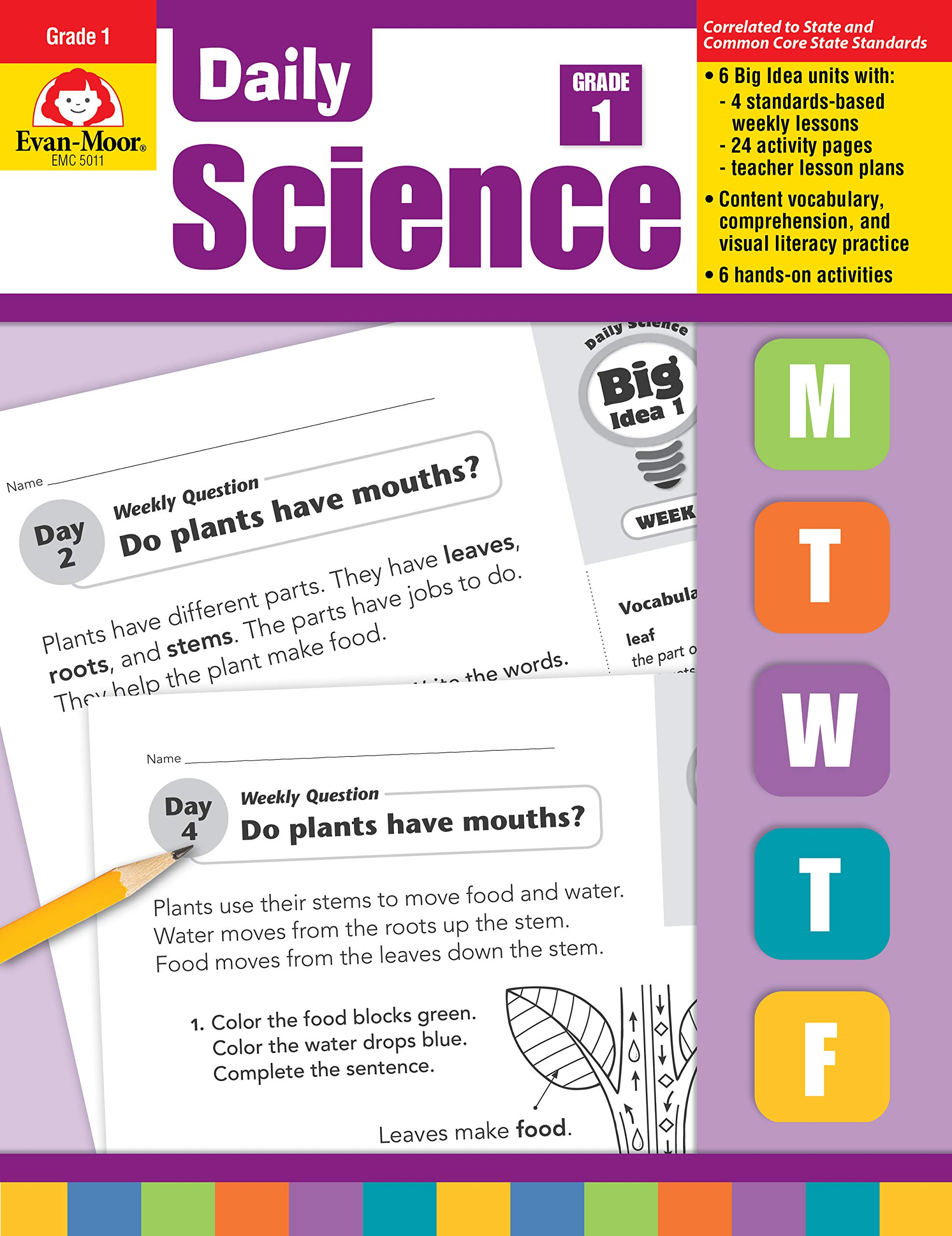 Daily Science, Grade 1: Evan-Moor Educational Publishers