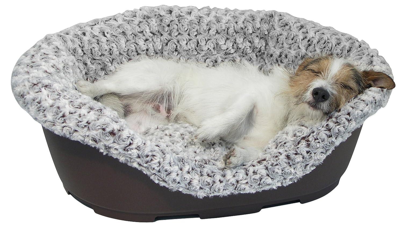 40 Winks peluche de cama de lujo cubierta, 86,36 cm, marrón claro: Amazon.es: Productos para mascotas