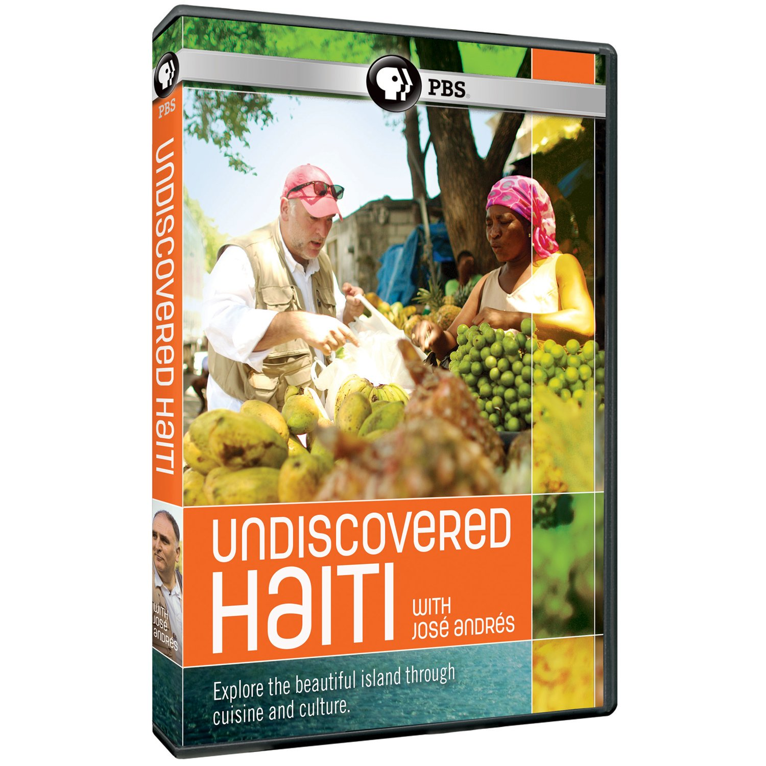 DVD : Undiscovered Haiti With Jose Andres (DVD)