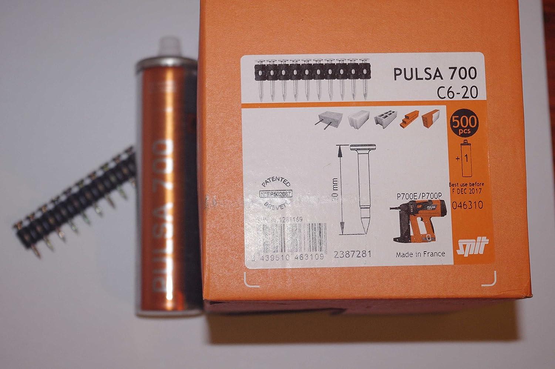 Spit - Clavo c6-20+1 cartucho gas 700p/700e