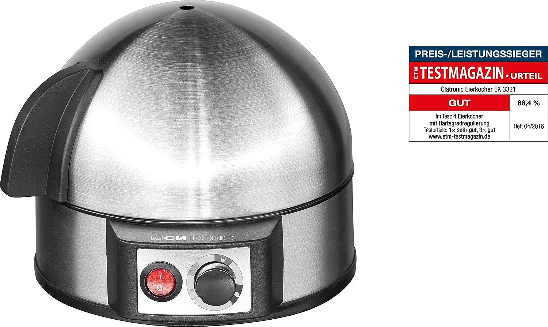 Bianco//Trasparente Premier Housewares 0805161 Cucina Uova in Camicia per Microonde