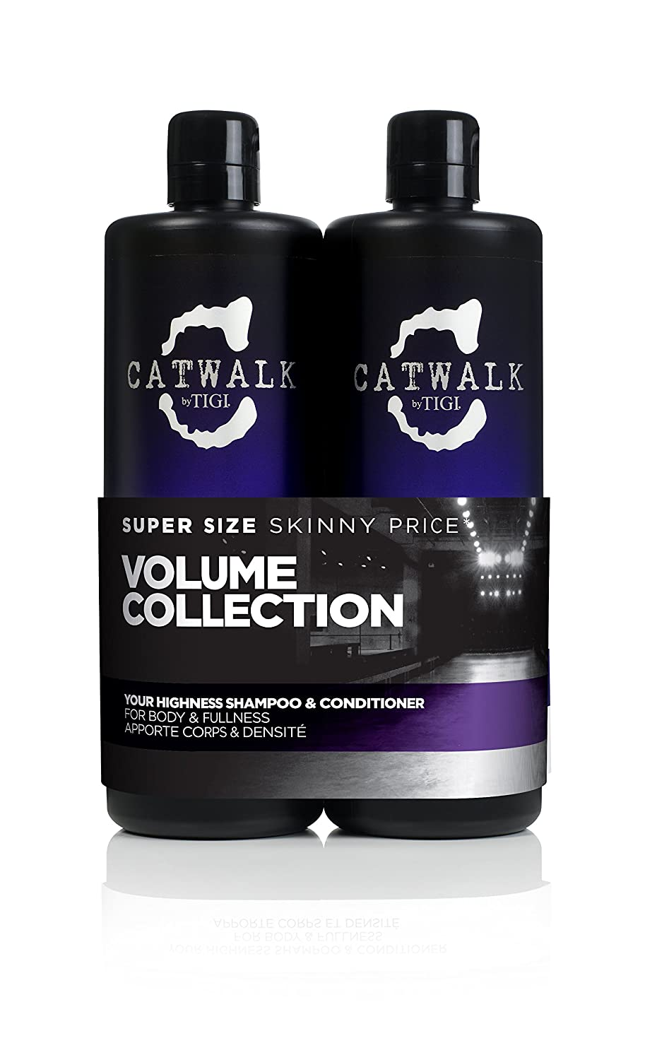 CATWALK by TIGI Your Highness Tween Duo Volume Collection Shampoo and Conditioner for Fine Hair 2x750 ml 615908950755