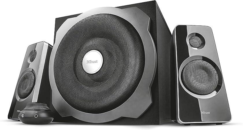Trust Tytan 6.6 Speaker Set - PC luidspreker met subwoofer, 660 Watt, zwart