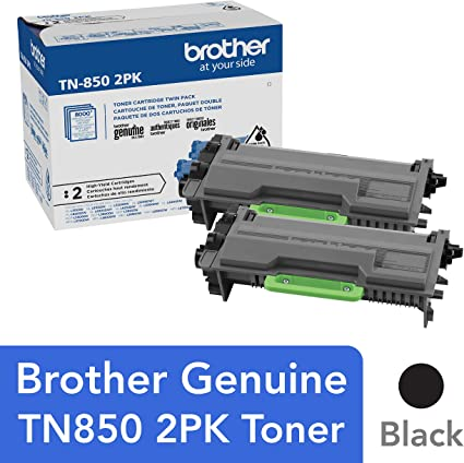 Brother TN850 High Yield Black Toner Cartridge