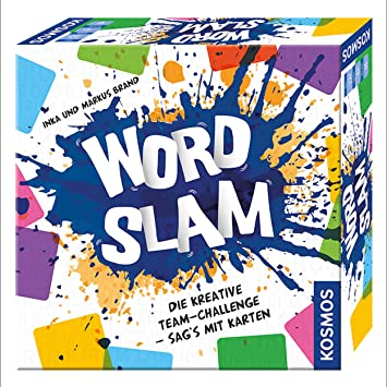 KOSMOS Word Slam Niños y Adultos Juego de Mesa de Palabras - Juego ...