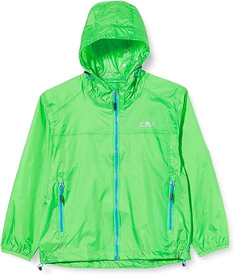 CMP Jungen Packable Regenjacke Wasserdichte Wp 3.000 Regenjacke