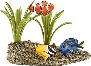 Schleich Coral Fish Set, Multi-Colour, 42327