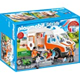 Playmobil 70049City Life Ambulancia con luz y Sonido