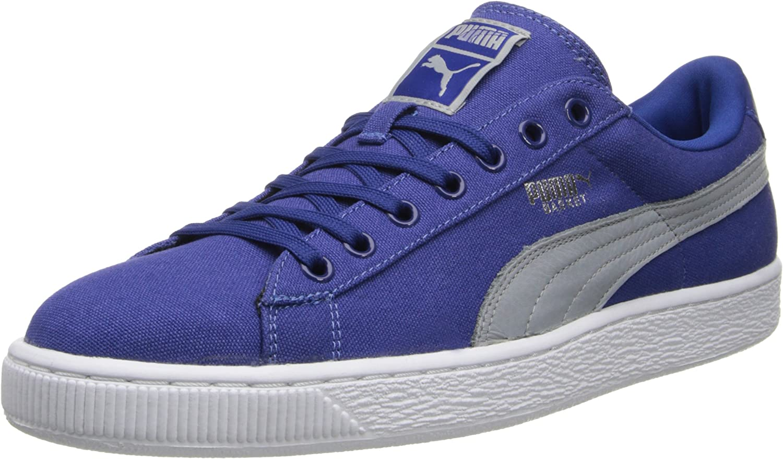 Basket Classic Canvas Sneaker: PUMA: Shoes