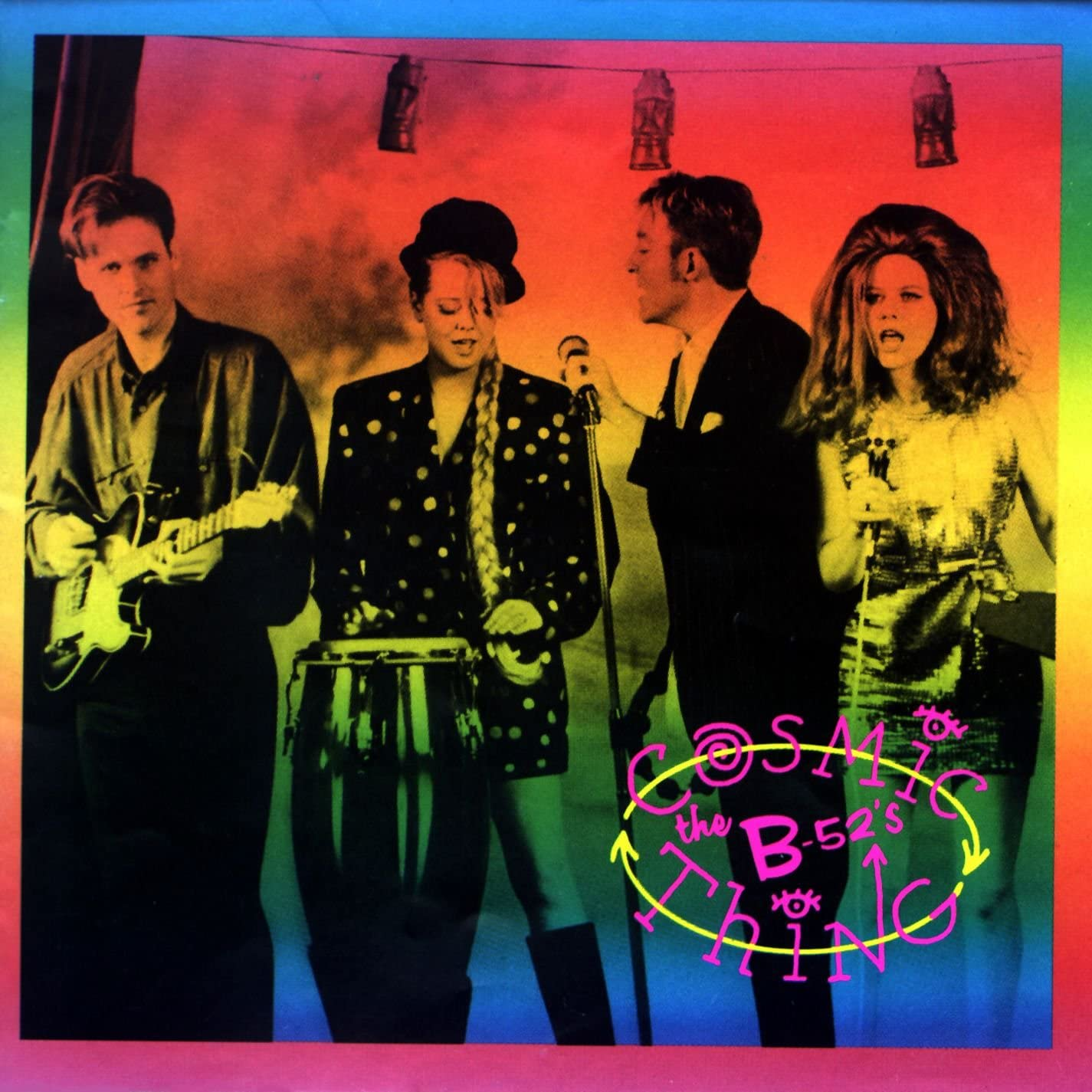 Talking Heads and B52s Repro Tour Poster