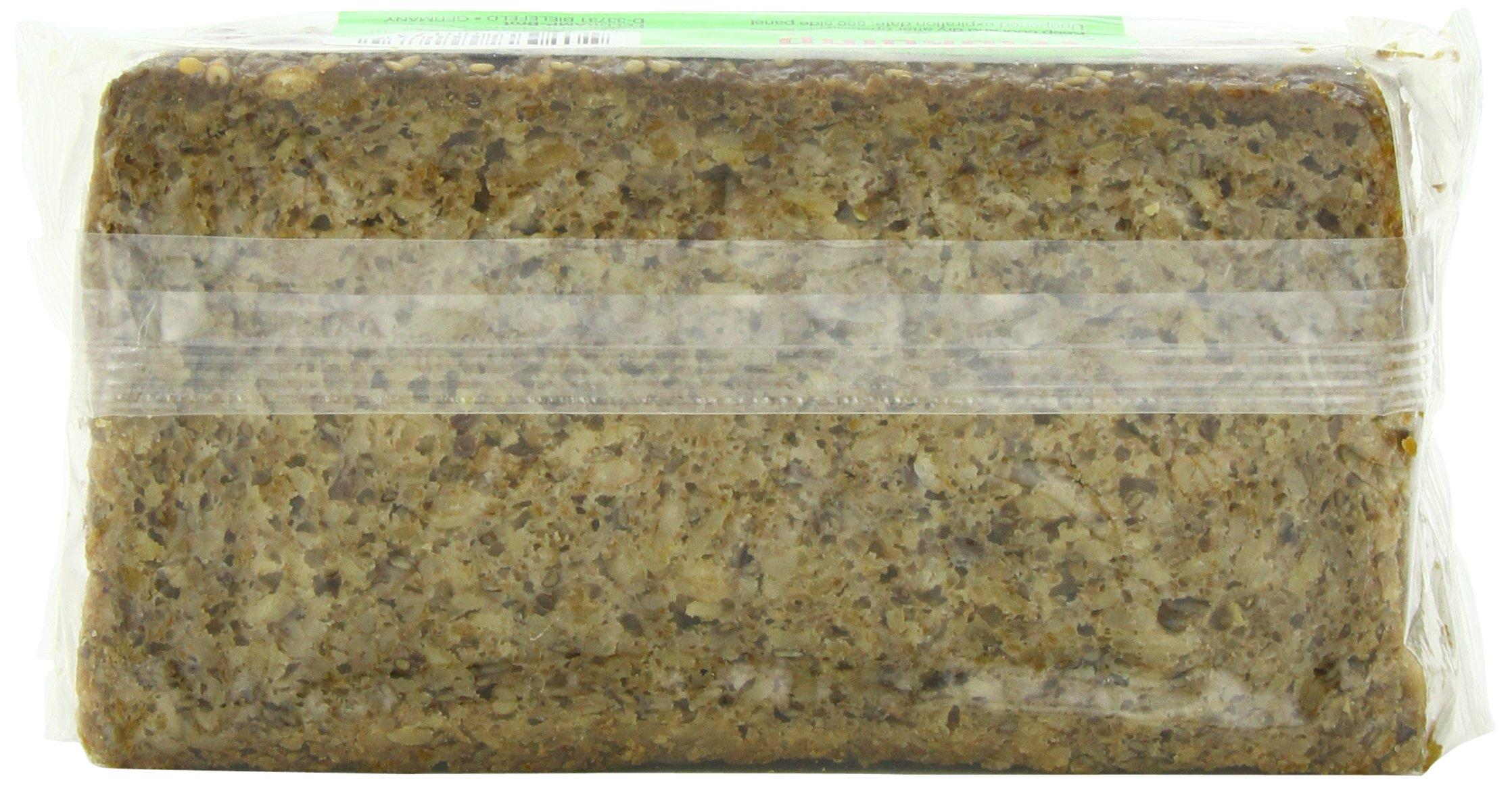 Delba Famous German Three Grain Bread, 16.75 Ounce (Pack of 12)
