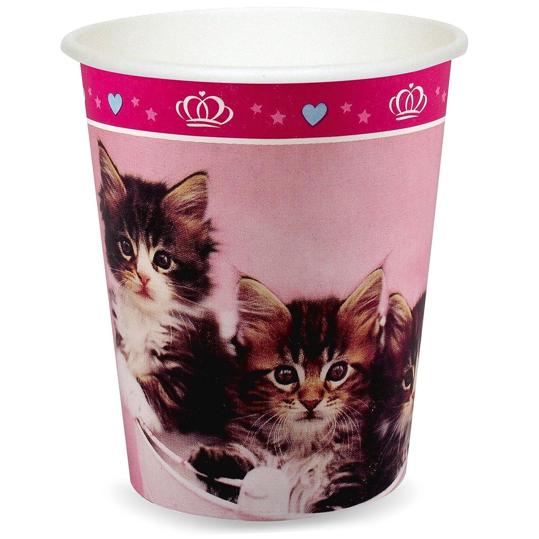 Cups 48 BirthdayExpress rachaelhale Glamour Cats 9 oz SG/_B074SVKCGW/_US