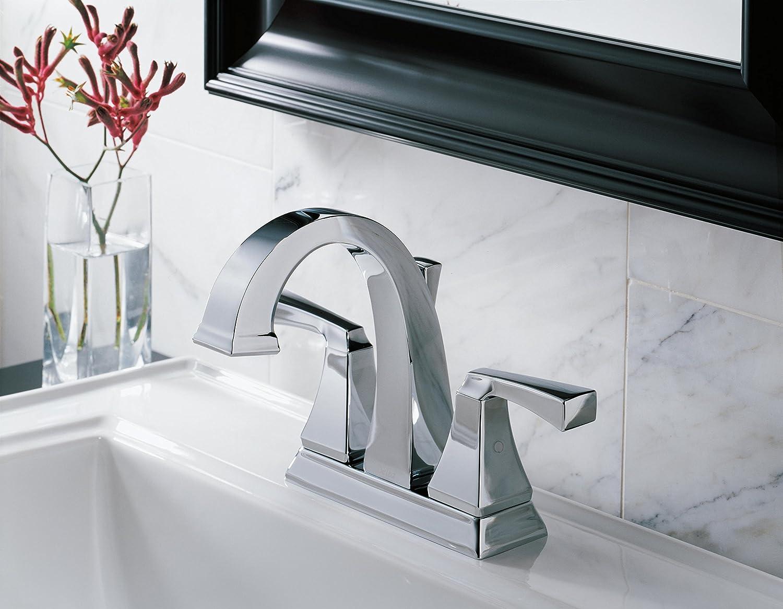 Amazon.com: Delta Faucet 2551-MPU-DST Dryden Two Handle Centerset ...