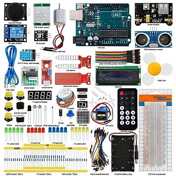 Amazon.com: Seesii - Kit de iniciación para Arduino MEGA ...