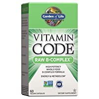 Garden of Life B Vitamin - Vitamin Code Raw B Complex Whole Food Supplement, Vegan...