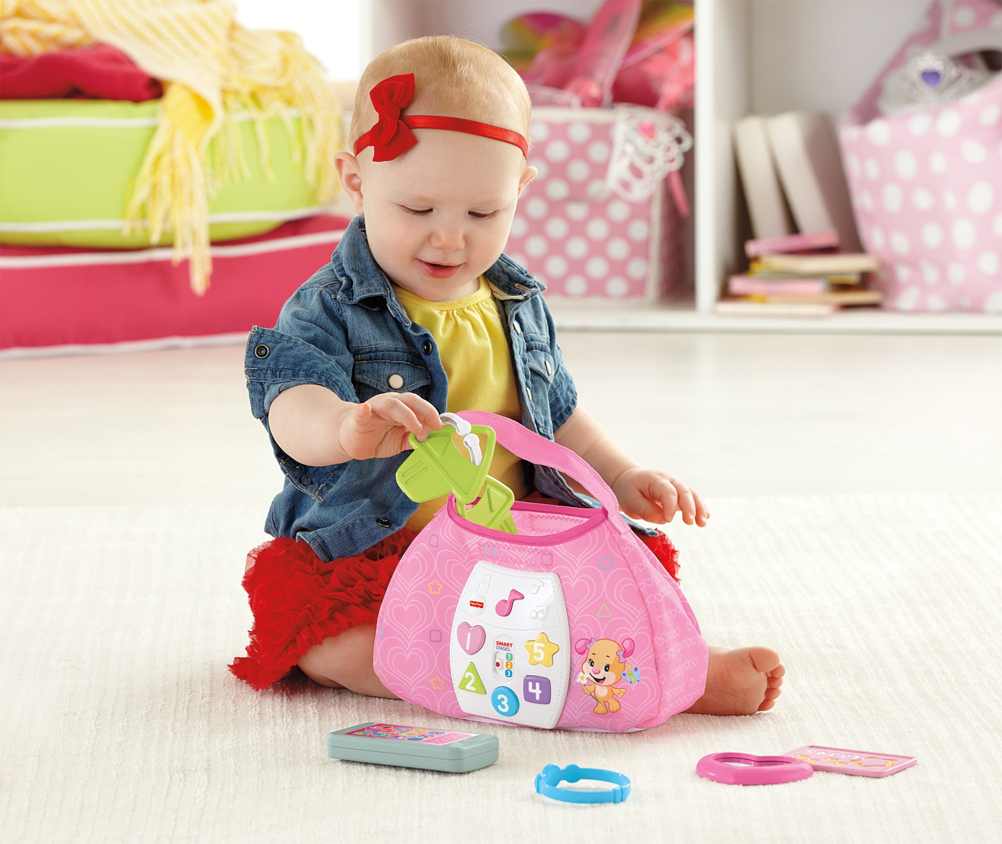 Fisher-Price Laugh & Learn Sis' Smart Stages Purse by Fisher-Price (Image #14)