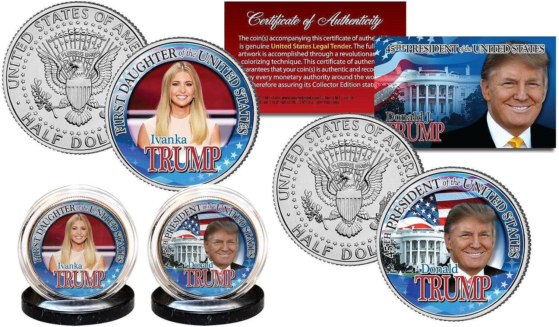 DONALD TRUMP 45TH PRESIDENT OF THE UNITED STATES JOHN F KENNEDY HALF DOLLAR!