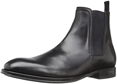 966fb1ffaf01 Aquatalia Men s Damon Chelsea Boot Black 8 ...