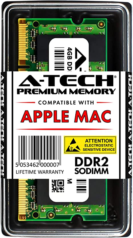 A-Tech for Apple 2GB Kit 2X 1GB PC2-5300 MacBook Pro MacBook Early 2009 Early 2008 MB061LL//B A1181 MB062LL//B MB063LL//B MB402LL//A MB403LL//A MB404LL//A MB881LL//A MA895LL A1226 MA896LL Memory RAM