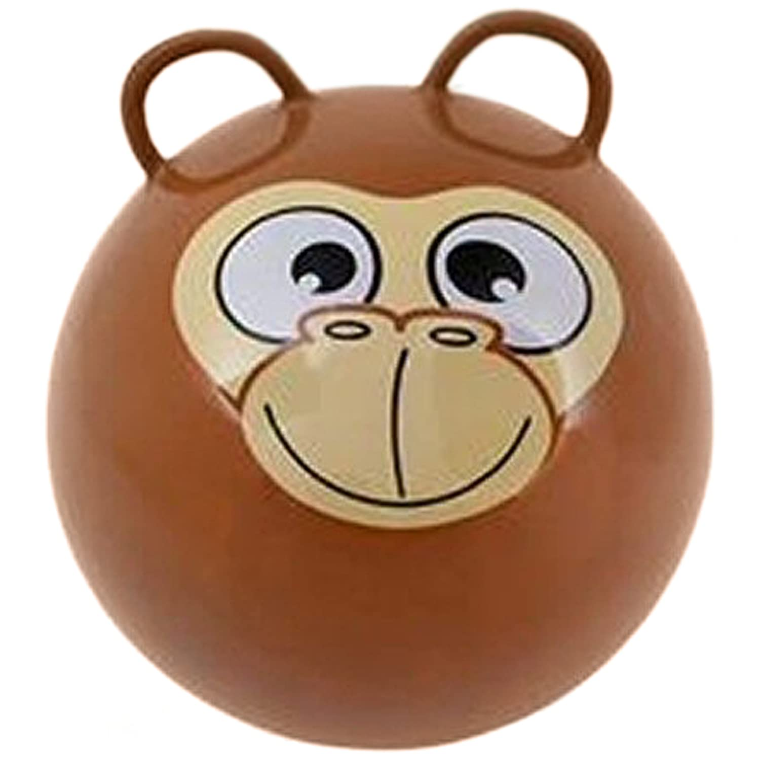 Hippity Hop Exercise Hopper Jump Balls with Animal Face and Two Handles for Kids
