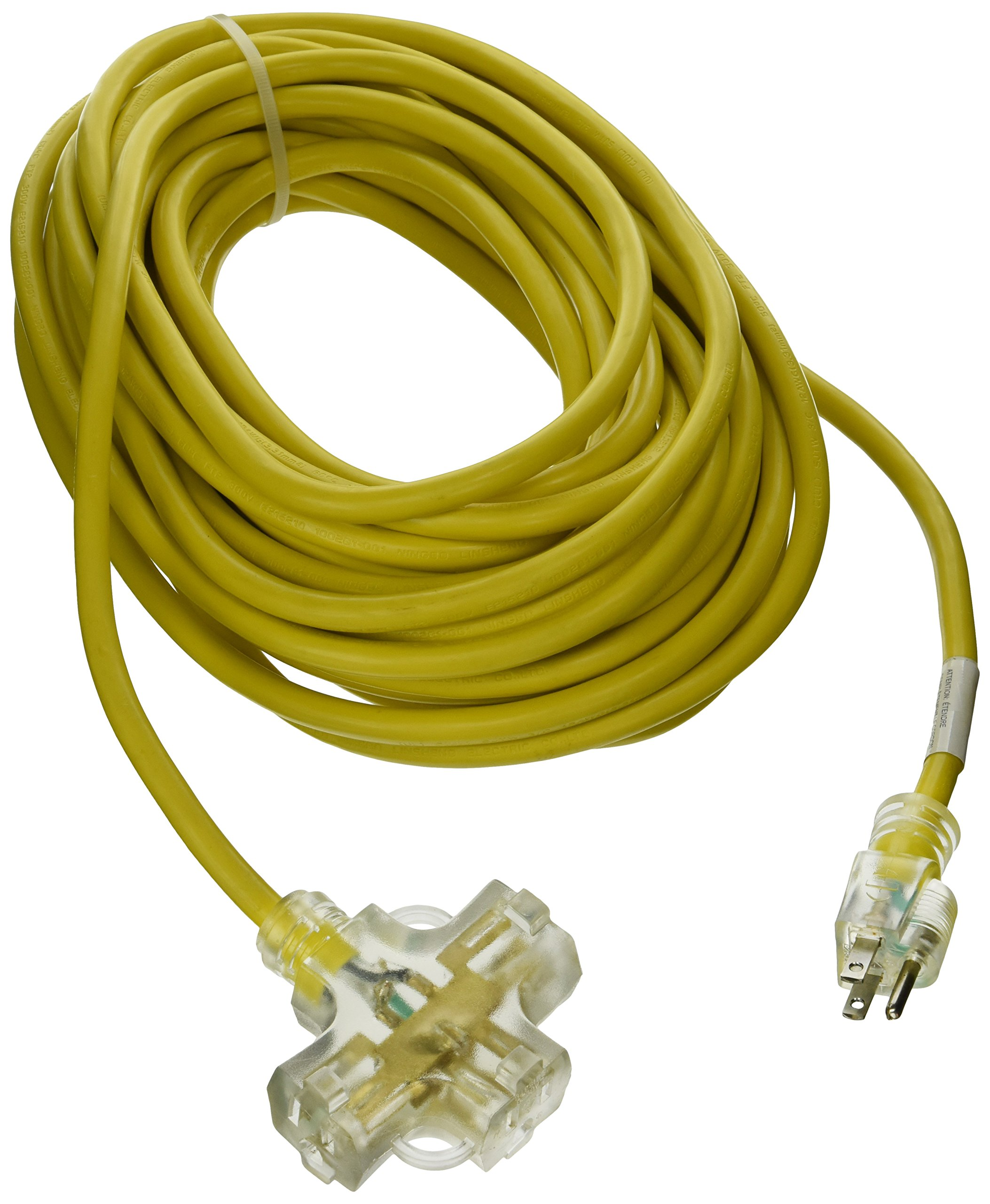 ATE Pro. USA 70053 Extension Cord, 50', 12 Gauge, 3-Prong