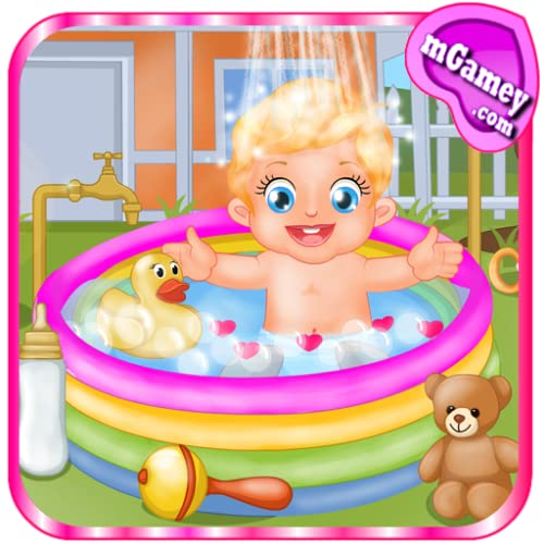 Baby Lizzie Outdoor Bathing by Hosa