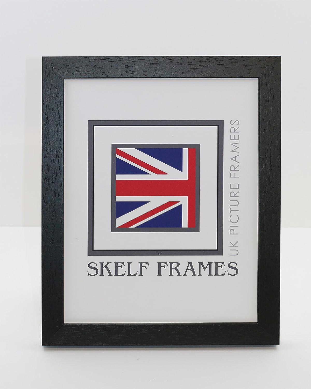 Skelf Frames Phoenix Black Picture/Photo or Certificate Solid Wood Frame (A2) Skelf Frames Ltd