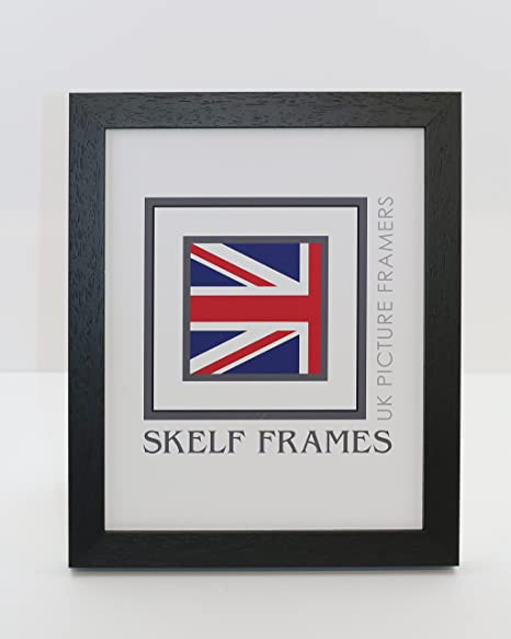 13x11 WOOD PICTURE PHOTO FRAME - IDEAL FOR SOME UNI PHOTOS (Black ...