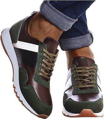 Leif Nelson Zapatillas para Hombre de Deporte Zapatos LN 721 X
