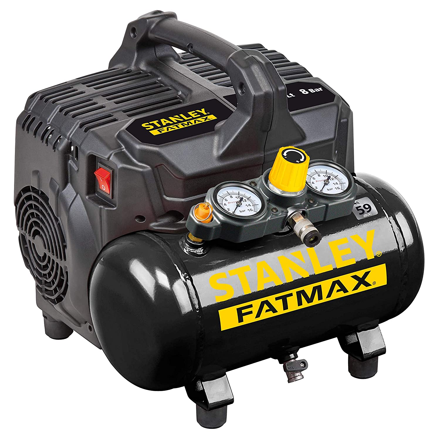 STANLEY FATMAX 101//8//6SI DST 101//8//6 Silent Air Compressor