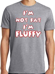 c4e00ab8 LiberTEES Big and Tall King Size I'm Not Fat I'm Fluffy Funny