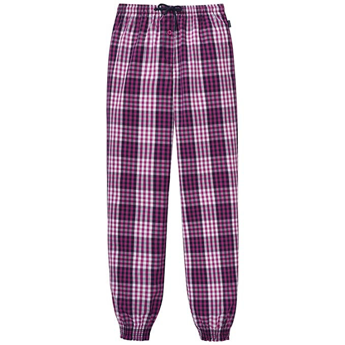 Schiesser Mix&Relax Web Pants, Parte Inferior del Pijama para Niños, Rojo (Fuchsia 508
