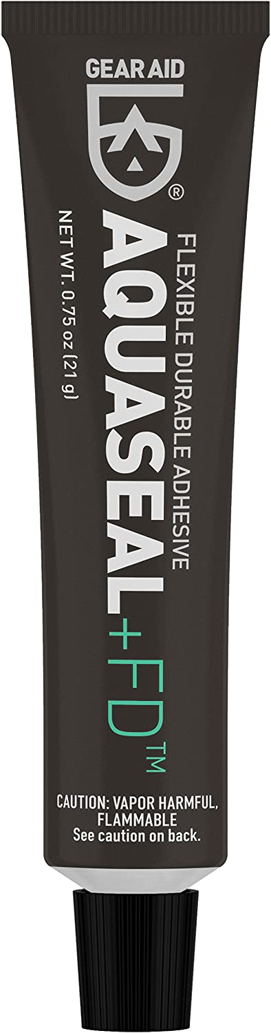 GEAR AID Aquaseal FD Flexible Repair Adhesive for Outdoor Gear and Vinyl, Clear Glue