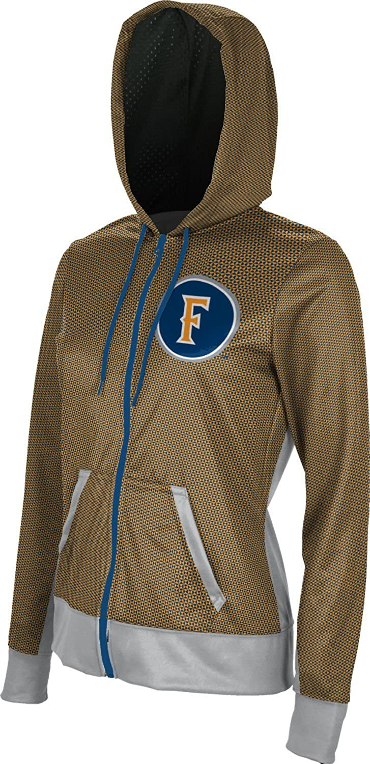 School Spirit Sweatshirt Embrace California State University Fullerton Girls Zipper Hoodie