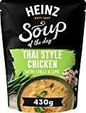 Heinz Soup of The Day - Thai Style Chicken with Chilli and Lime Soup, 430g