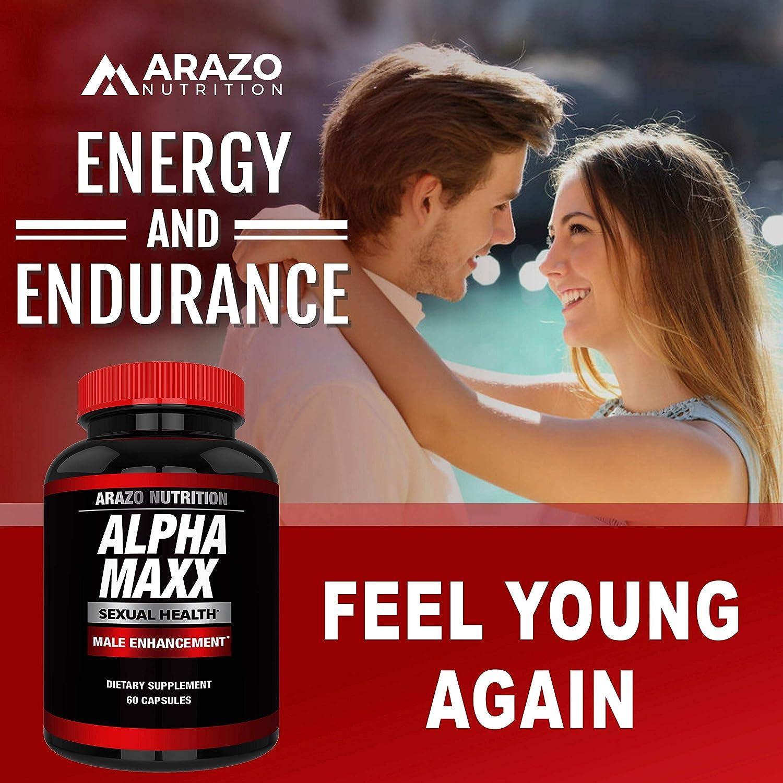 Amazon Com Alphamaxx Male Enhancement Supplement Ginseng Muira