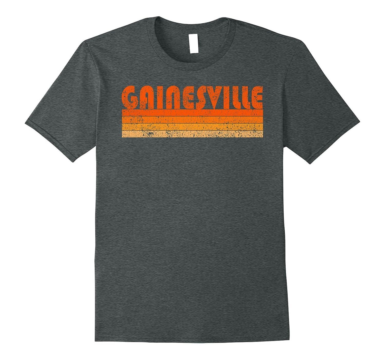 Vintage Retro Gainesville Florida T-Shirt-BN