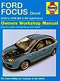 Ford Focus Diesel Service and Repair Manual: 2005 to 2009 (Haynes Service and Repair Manuals)