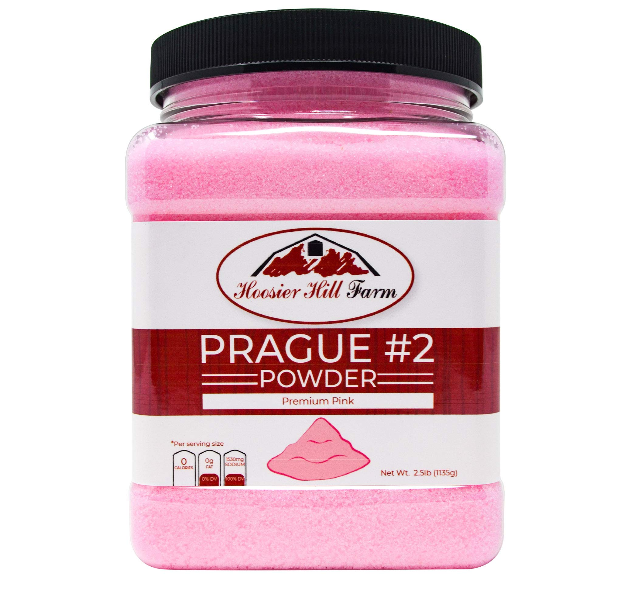 Hoosier Hill Farm Prague Powder No.2 (#2) Pink Curing Salt, 2.5 lb.