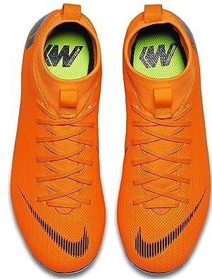 low priced d745b cbe89 Nike Jr Superfly 6 Academy GS MG, Chaussures de Football Mixte Enfant,  Orange (