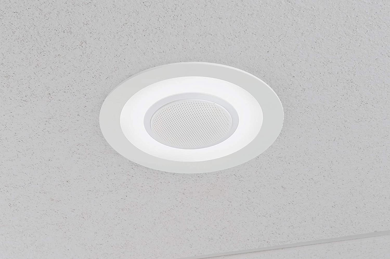 Lithonia Lighting 6SL RD 07LM 27K 90CRI MW M6  6 Dimmable LED Retrofit Module with Integrated Bluetooth Speaker 2700K Warm White Matte White 260V5K
