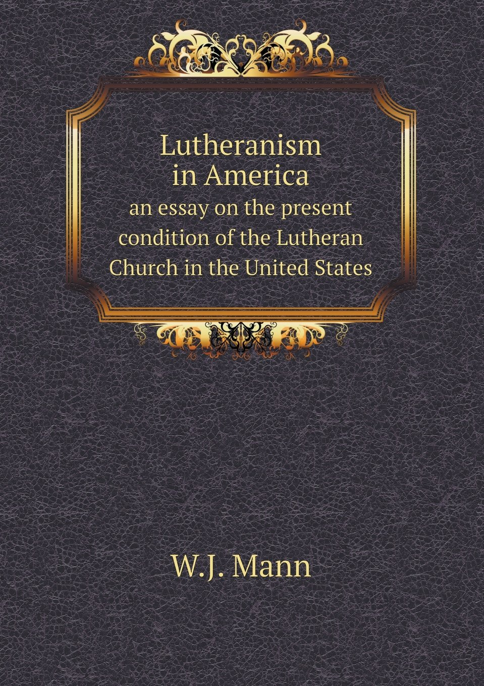 Lutheranism in America an essay on the present condition of the Lutheran Church in the United States PDF ePub fb2 ebook